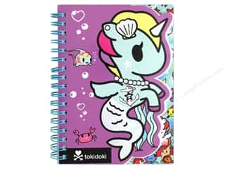 die cuts: Blueprint Books Tokidoki Mermicorno Die Cut Notebook