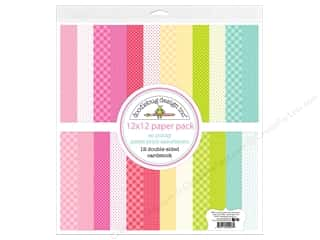 scrapbooking & paper crafts: Doodlebug So Punny Paper Pack 12 in. x 12 in. Petite Print