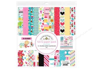 scrapbooking & paper crafts: Doodlebug So Punny Paper Pack 12 in. x 12 in.