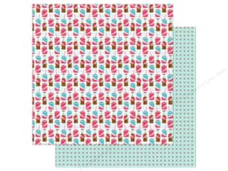 "paper straw: Doodlebug So Punny Paper 12""x 12"" Soda-lightful (25 pieces)"
