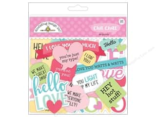 die cuts: Doodlebug So Punny Chit Chat