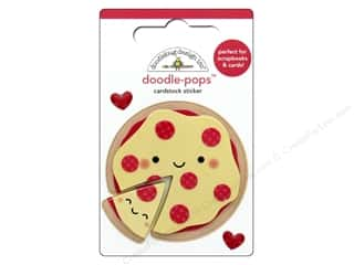 Doodlebug Collection So Punny Doodle Pops Pizza Love