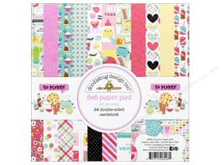 scrapbooking & paper crafts: Doodlebug So Punny Paper Pad 6 in. x 6 in.