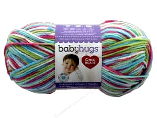 yarn: Red Heart Baby Hugs Medium Yarn 208 yd. #4957 Hopscotch
