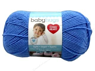 yarn: Red Heart Baby Hugs Light Yarn 247 yd. #3825 Bluie