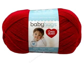 yarn & needlework: Red Heart Baby Hugs Light Yarn 247 yd. #3909 Ladybug