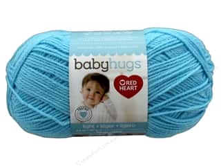 Clearance: Red Heart Baby Hugs Light Yarn 247 yd. #3820 Sky