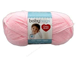yarn & needlework: Red Heart Baby Hugs Light Yarn 247 yd. #3724 Pinkie