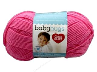 Red Heart Baby Hugs Light Yarn 247 yd. #3704 Happy