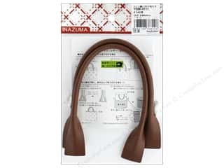 Clearance: Inazuma Handles Leather Like Machine Sew 16 in.  Brown