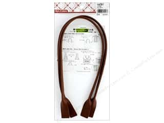 Clearance: Inazuma Handles Leather Like Machine Sew 26 in. Brown