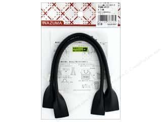 Clearance: Inazuma Handles Leather Like Machine Sew 16 in. Black