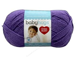 Clearance: Red Heart Baby Hugs Light Yarn 247 yd. #3538 Lilac