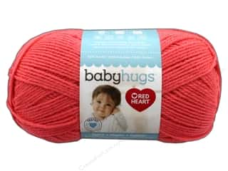 yarn & needlework: Red Heart Baby Hugs Light Yarn 247 yd. #3258 Peachie