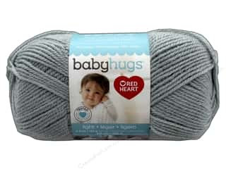 Clearance: Red Heart Baby Hugs Light Yarn 247 yd. #3410 Dolphin