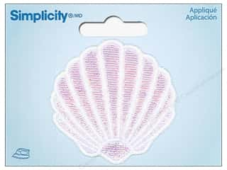 Simplicity Applique Iron On Medium Clam Shell