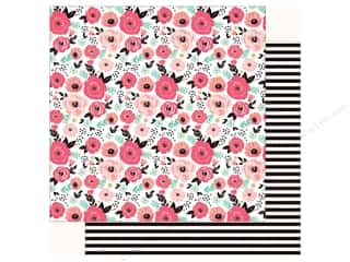 Echo Park Fashionista Paper 12 in. x 12 in. Floral (25 pieces)