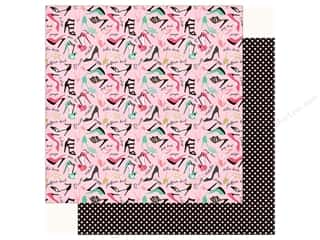 fashionista: Echo Park Fashionista Paper 12 in. x 12 in.  So Many Shoes (25 pieces)