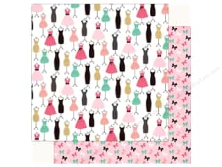 Echo Park Fashionista Paper 12 in. x 12 in.  Dress For Success