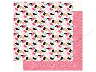 Echo Park Fashionista Paper 12 in. x 12 in. Paint The Town