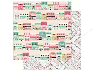 fashionista: Echo Park Fashionista Paper 12 in. x 12 in. Main St Shopping (25 pieces)