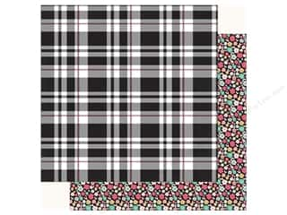 Echo Park Fashionista Paper 12 in. x 12 in.  Playful Plaid