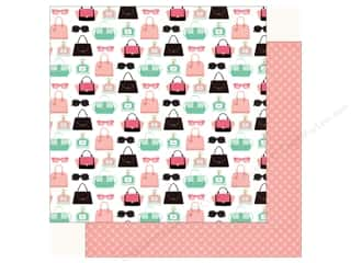fashionista: Echo Park Fashionista Paper 12 in. x 12 in. Retail Therapy (25 pieces)