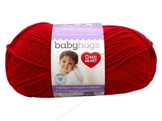 Red Heart Baby Hugs Medium Yarn 247 yd. #4909 Ladybug