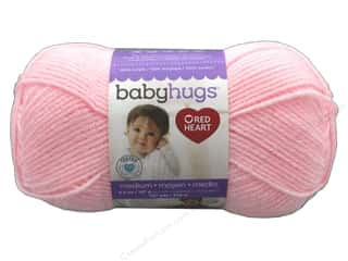 Red Heart Baby Hugs Medium Yarn 247 yd. #4724 Pinkie