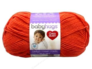 yarn & needlework: Red Heart Baby Hugs Medium Yarn 247 yd. #4255 Orangie