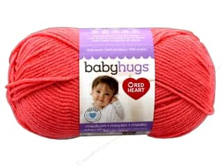 yarn & needlework: Red Heart Baby Hugs Medium Yarn 247 yd. #4258 Peachie