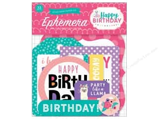 Echo Park Happy Birthday Girls Ephemera