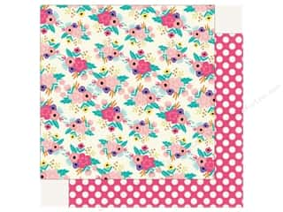 Echo Park Happy Birthday Girls Paper 12 in. x 12 in. Festive Floral (25 pieces)