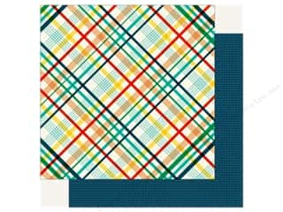 Echo Park Happy Birthday Boy Paper 12 in. x 12 in. Rad Plaid (25 pieces)