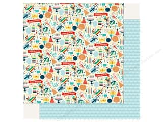 Echo Park Happy Birthday Boy Paper 12 in. x 12 in.  Party Fun (25 pieces)