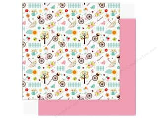 "hello spring: Echo Park Hello Spring Paper 12""x 12"" Happy Spring (25 pieces)"