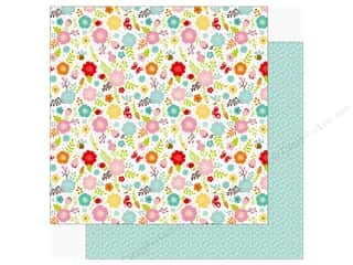 Echo Park Hello Spring Paper 12 in. x 12 in. Spring Flowers (25 pieces)
