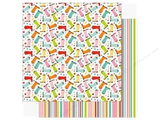 hello spring: Echo Park Hello Spring Paper 12 in. x 12 in. Spring Showers (25 pieces)