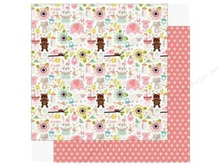 Echo Park Sweet Baby Girl Paper  12 in. x 12 in. It's a Girl (25 pieces)