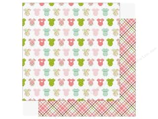 scrapbooking & paper crafts: Echo Park Sweet Baby Girl Paper  12 in. x 12 in. Bundle Of Joy (25 pieces)