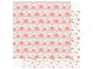 scrapbooking & paper crafts: Echo Park Sweet Baby Girl Paper  12 in. x 12 in. Love You (25 pieces)