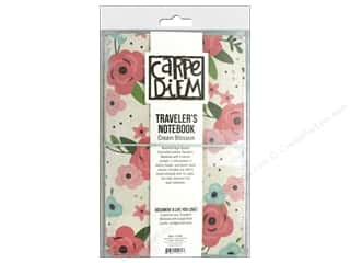 Simple Stories Carpe Diem Bloom Traveler Notebook Cream Blossom