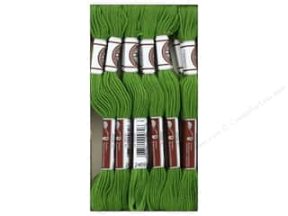 DMC Matte Cotton Embroidery Thread Avocado Green