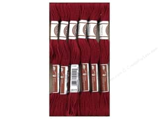 DMC Matte Cotton Embroidery Thread Med Garnet (12 skeins)