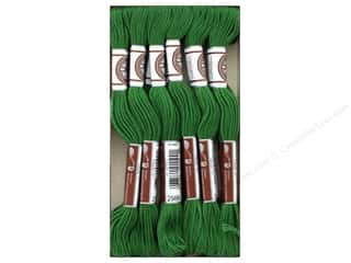 DMC Matte Cotton Embroidery Thread Very Dk Forest Green
