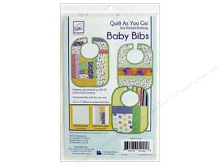June Tailor Kit Quilt As You Go Cotton/Polyester Baby Bibs