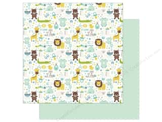 scrapbooking & paper crafts: Echo Park Collection Sweet Baby Boy Paper  12 in. x 12 in. It's A Boy (25 pieces)