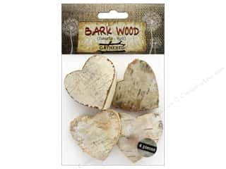 craft & hobbies: BCI Crafts Bark Shapes Hearts 4 pc