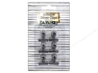 BCI Crafts Bull Clips 22mm Silver 6pc