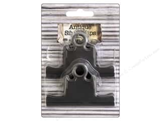 BCI Crafts Bull Clips 75 mm Silver 2 pc